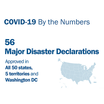Cover image for COVID-19 By The Numbers Collection