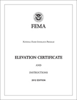 Cover photo for the document: National Flood Insurance Program Elevation Certificate and Instructions