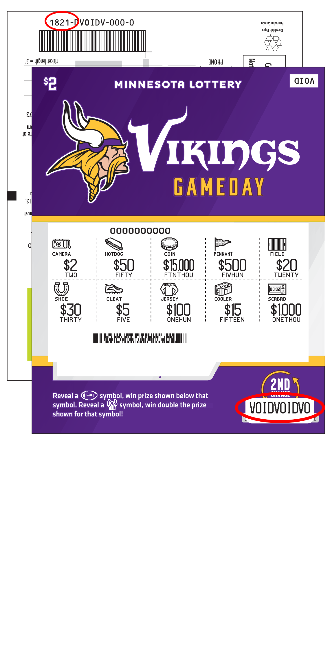 1821 Vikings Gameday uncovered 1