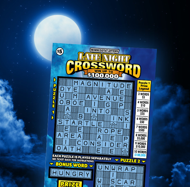 Late Night Crossword Supporting Image M Nlottery