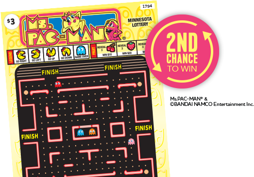 Ms Pac Man 2nd chance homepage main