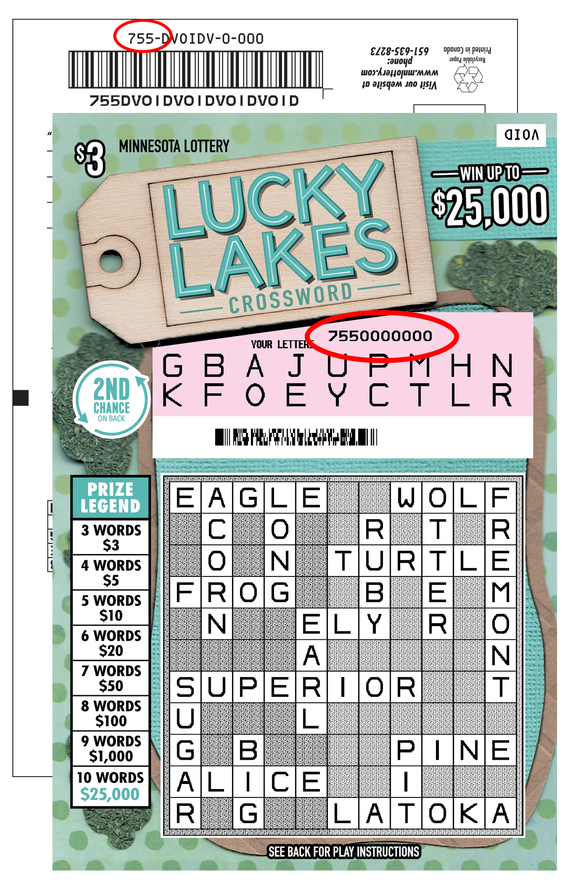 Pop Lucky Lakes
