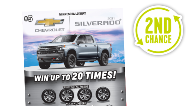 Chevy 2nd Chance Main MN Lottery
