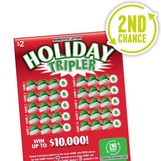 Holiday Tripler 2nd Chance 540