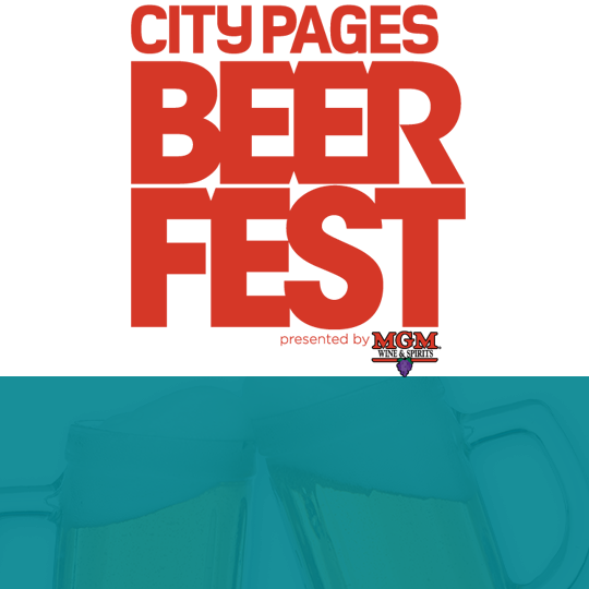 City Pages Beer Fest Event 540X540