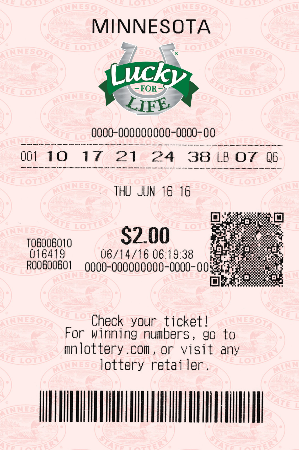 Lucky For Life - Minnesota Lottery