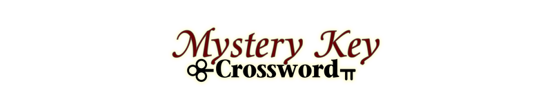 $3.00 -  MYSTERY KEY CROSSWORD (1789)