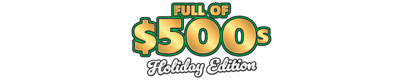 $5.00 -  Full of $500s Holiday Edition (1832)