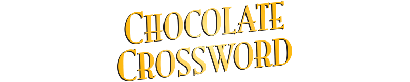 $3.00 -  CHOCOLATE CROSSWORD (731)