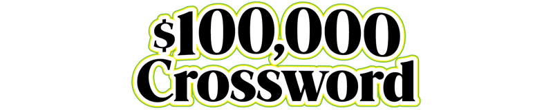 $5.00 -  $100,000 CROSSWORD (744)