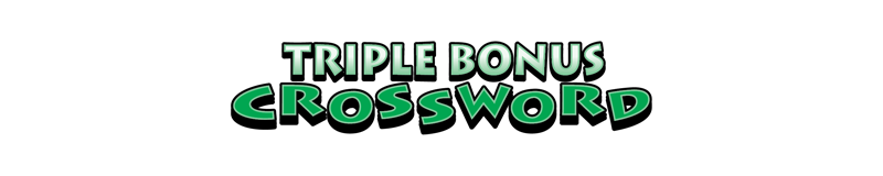 $5.00 -  TRIPLE BONUS CROSSWORD (750)