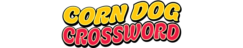 $3.00 -  CORN DOG CROSSWORD (772)