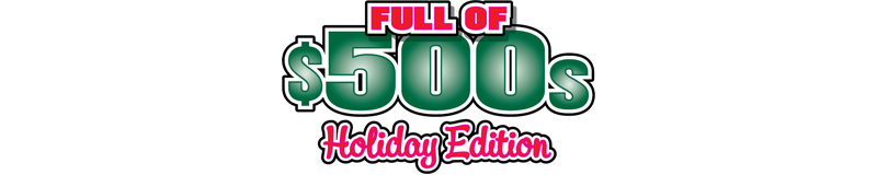 $5.00 -  FULL OF 500S HOLIDAY EDITION (1781)