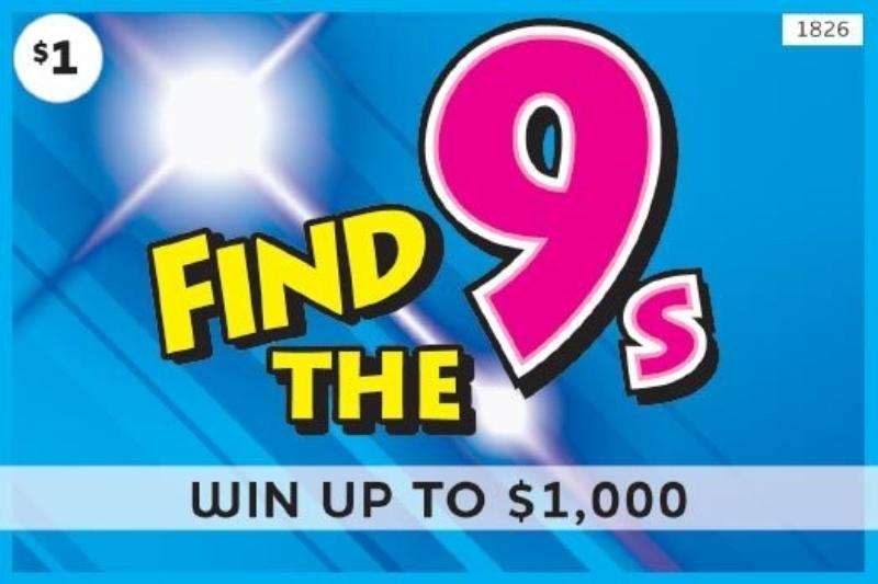 $1 -  Find the 9s (1826)