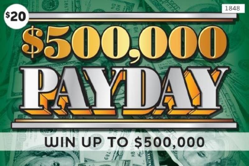 $20 -  $500,000 Payday (1848)