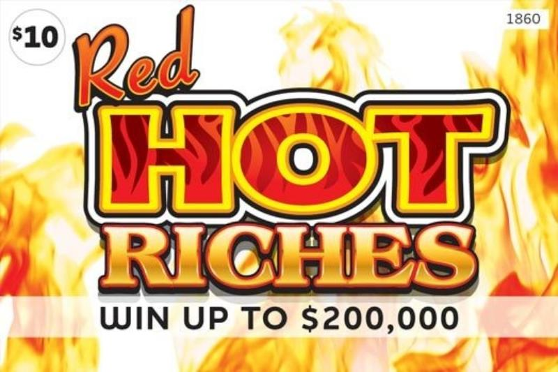 $10 -  Red Hot Riches (1860)