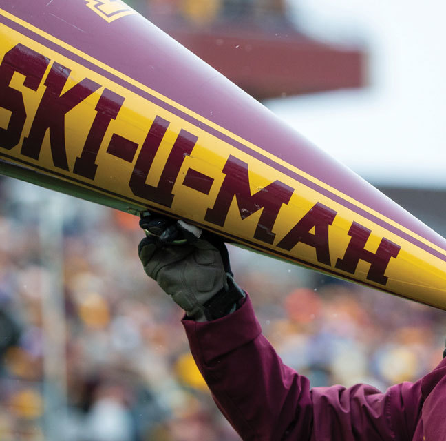 Gopher football supporting 2