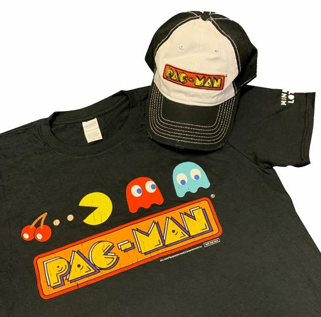Ms PAC MAN giveaway supporting