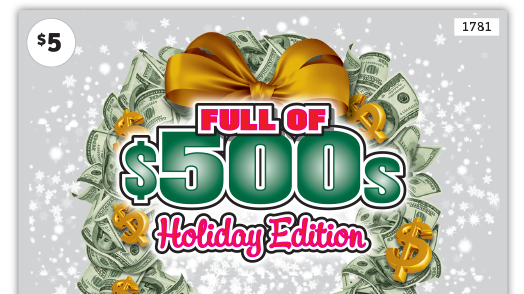 1781 Full of 500s Holiday Edition Main
