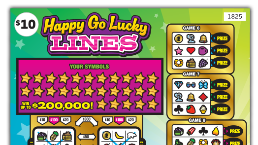 1825 Happy Go Lucky Lines Main Image