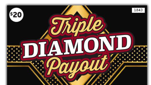 1843 Triple Diamond Payout Main Image