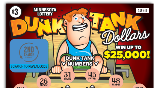 1853 Dunk Tank Dollars Ticket Main