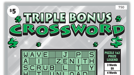 750 Triple Bonus Crossword Main