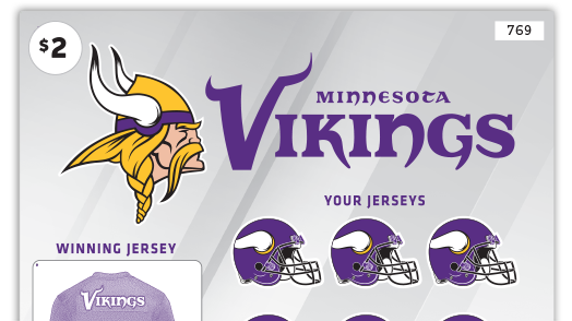 769 2 Dollar Minnesota Vikings