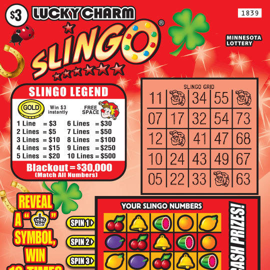 1839 Lucky Charm Slingo preview
