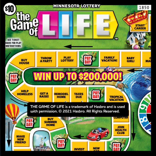 1850 The Game of Life 4x4 540